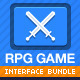 Funny or Childish RPG game interface - GraphicRiver Item for Sale