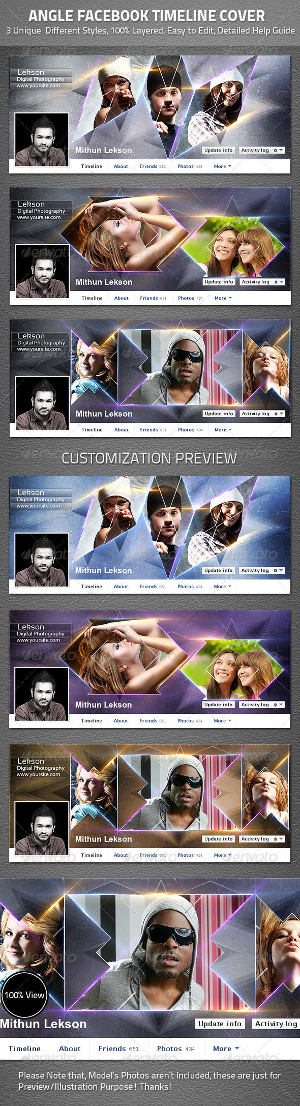 Angle Facebook Timeline Cover - Facebook Timeline Covers Social Media