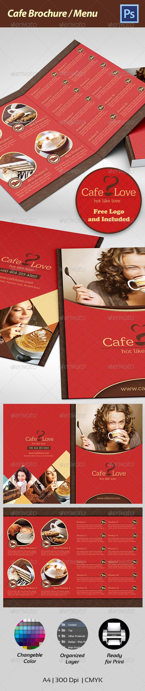 Coffee Brochure - Menu - Corporate Brochures