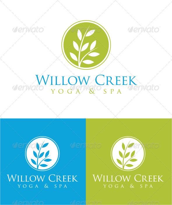 Willow Creek - Nature Logo Templates