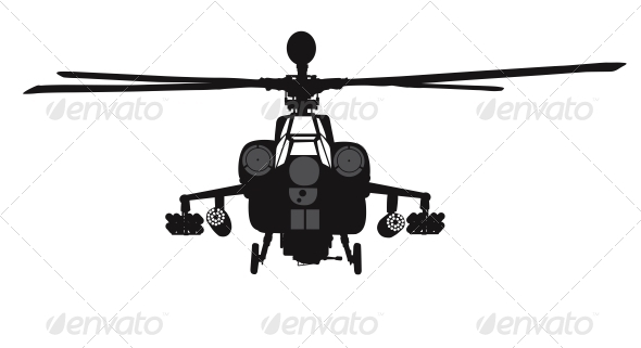 Helicopter - Travel Conceptual