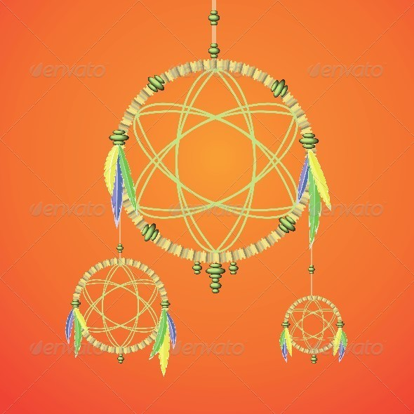 Dream Catcher - Man-made Objects Objects