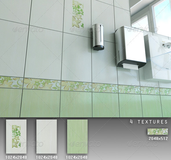 Professional Ceramic Tile Collection C027 - 3DOcean Item for Sale