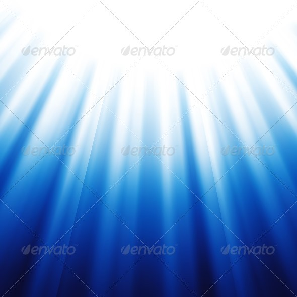 Blue Abstract Background - Backgrounds Decorative
