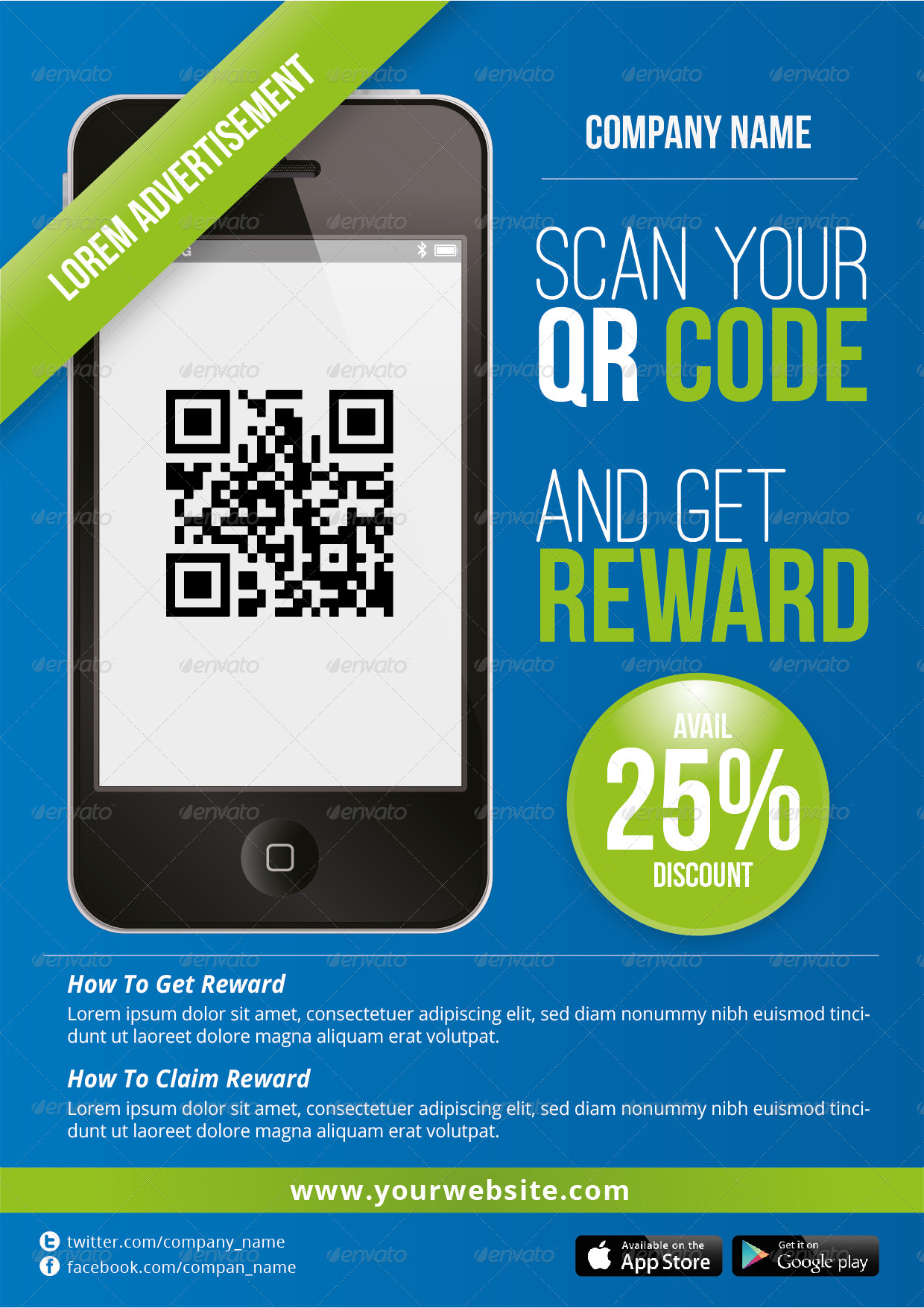 Qr advertisement promotion poster by mjcreative graphicriver qr advertisement promotion poster sciox Choice Image