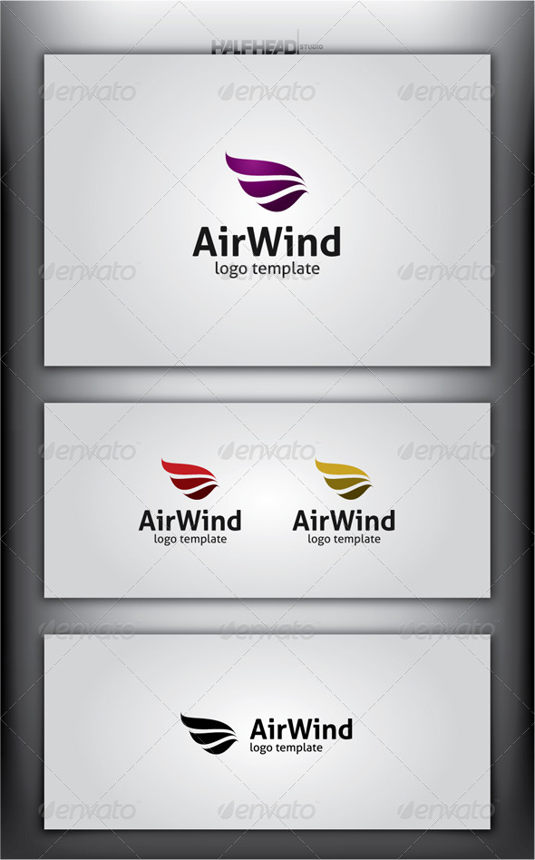 AirWind Logo Template - Abstract Logo Templates