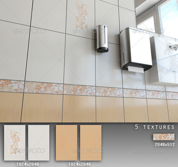 Professional Ceramic Tile Collection C029 - 3DOcean Item for Sale