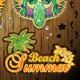 Set Tropical Beach Stickers - GraphicRiver Item for Sale