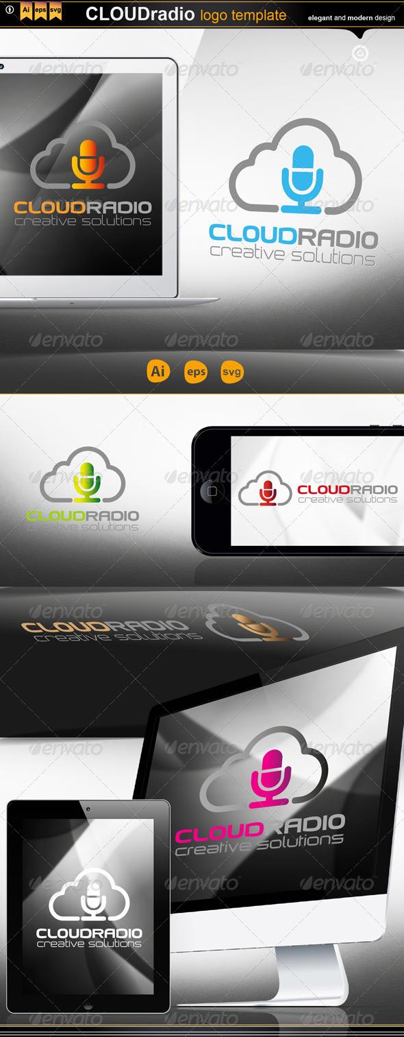 Cloud Radio - Logo Templates