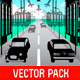 Urban Scenery Vector Pack - GraphicRiver Item for Sale