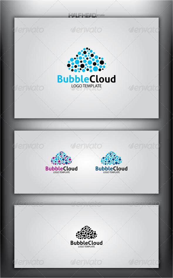 BubbleCloud Logo Template - Abstract Logo Templates