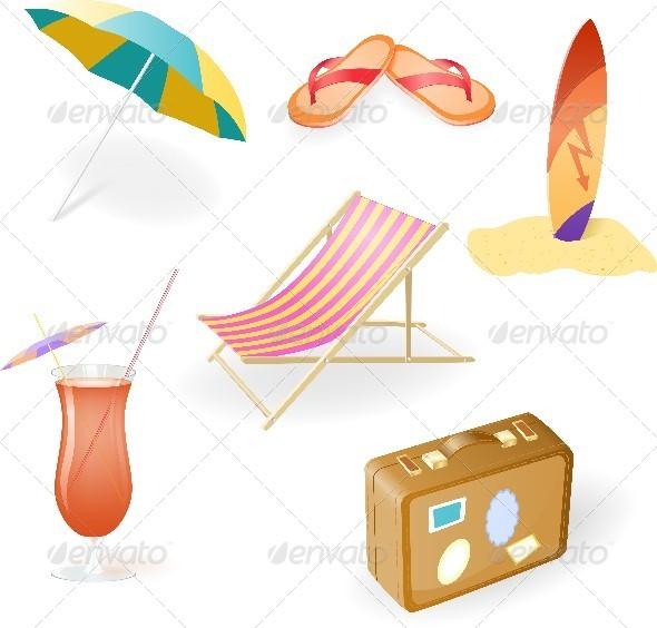 Beach Set - Travel Conceptual