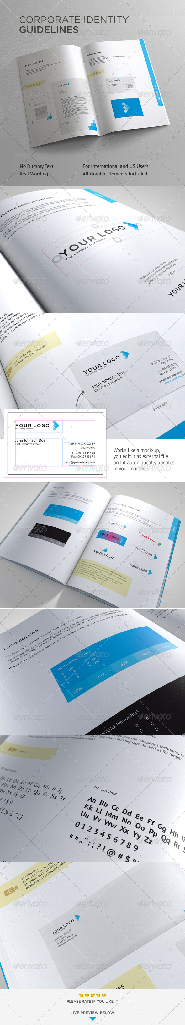 Corporate Identity Guidelines - Corporate Brochures