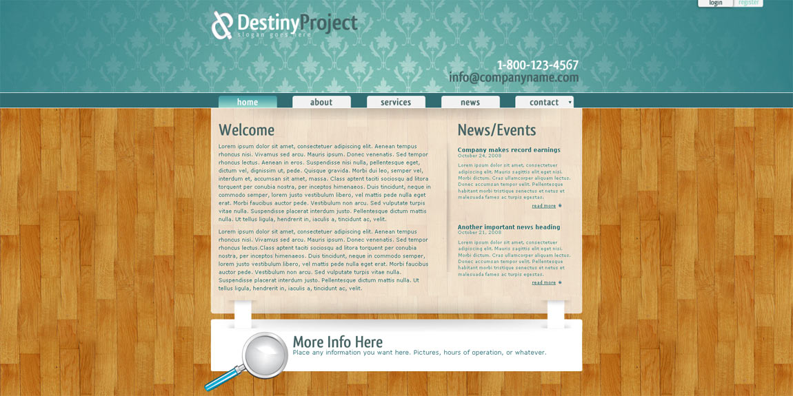 Free Download Business Theme - Destiny Project Nulled Latest Version