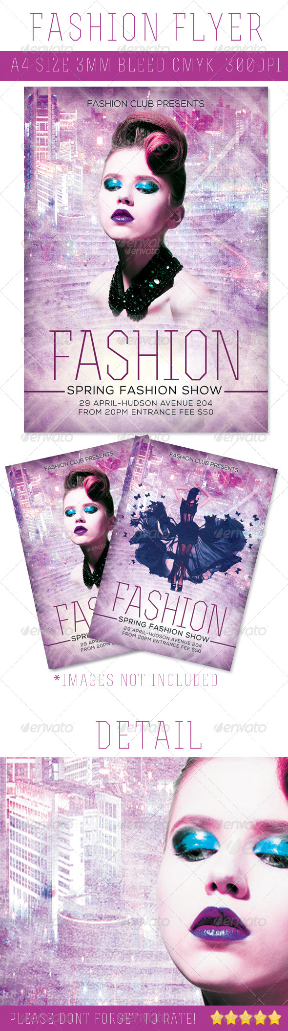 Fashion A4 Flyer - Miscellaneous Events