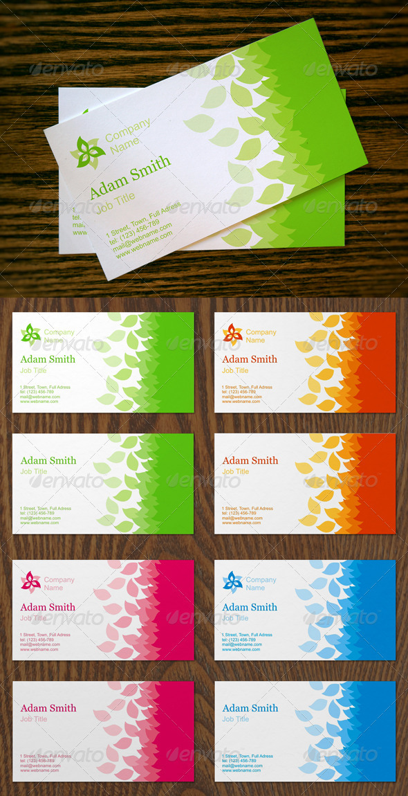 Seasonal Business Cards   - Business Cards Print Templates
