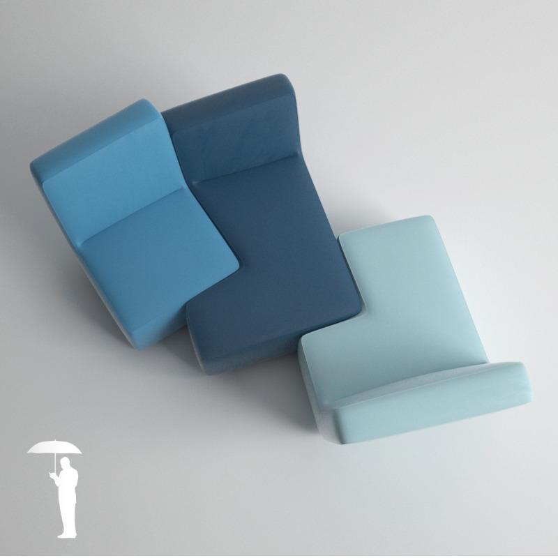 ligne roset confluences grande conversation by. Black Bedroom Furniture Sets. Home Design Ideas