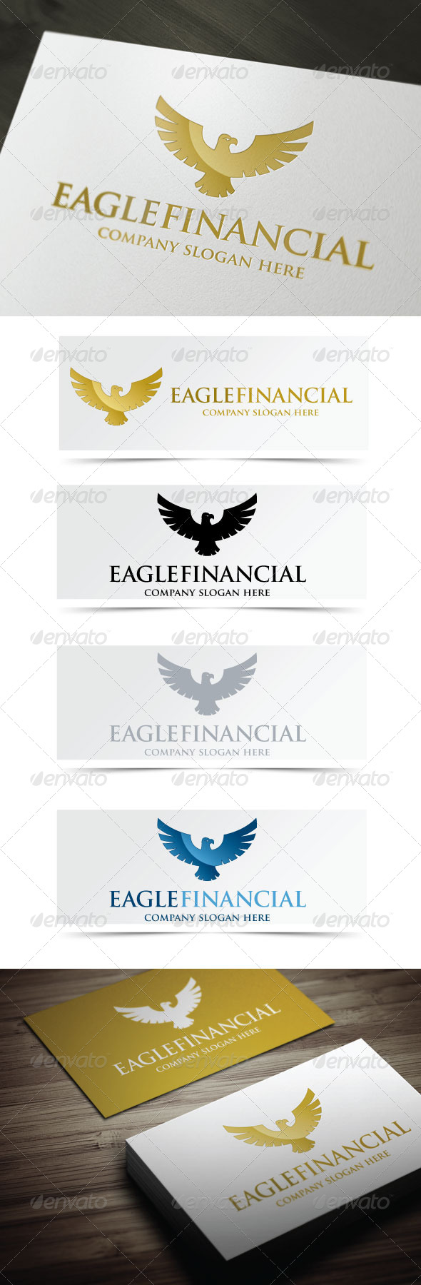 Eagle Financial - Animals Logo Templates