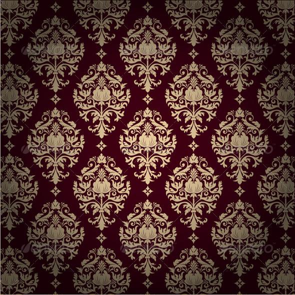 Seamless Damask Pattern By GarryKillian GraphicRiver Stunning Damask Pattern