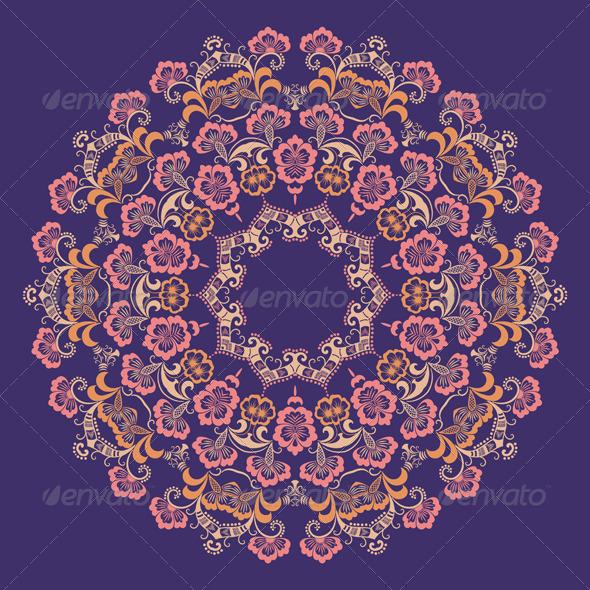 Vector Ornamental Round Lace - Flourishes / Swirls Decorative