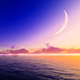 Sea and Moon - VideoHive Item for Sale