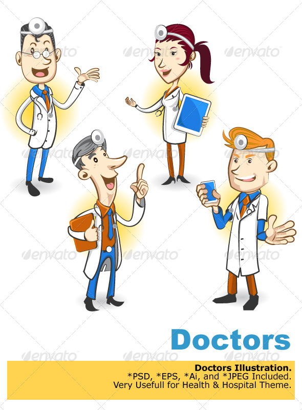Doctor Character - Health/Medicine Conceptual
