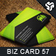 Business Card Design 57 - GraphicRiver Item for Sale