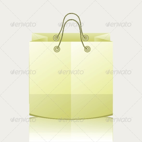 Paper Shopping Bag - Miscellaneous Characters