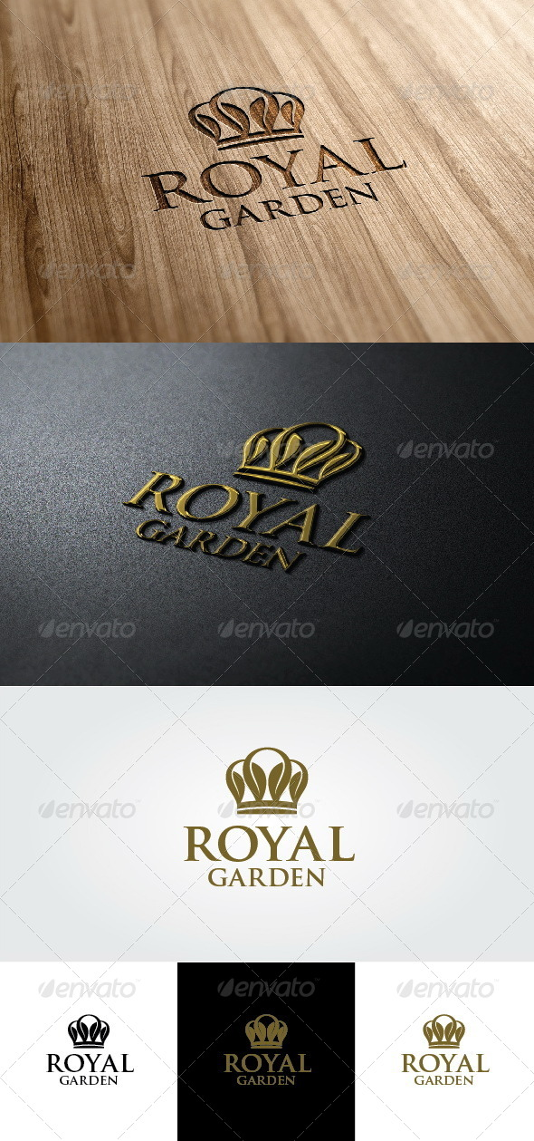 Royal Garden Logo - Crests Logo Templates