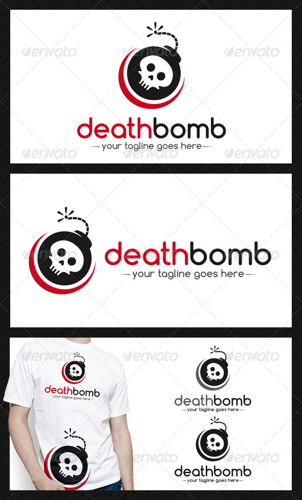 Death Bomb Logo Template - Objects Logo Templates