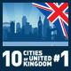 Vector City Skyline Set. United Kingdom #1 - GraphicRiver Item for Sale