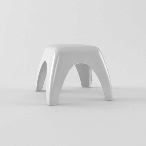 Kids stool - 3DOcean Item for Sale