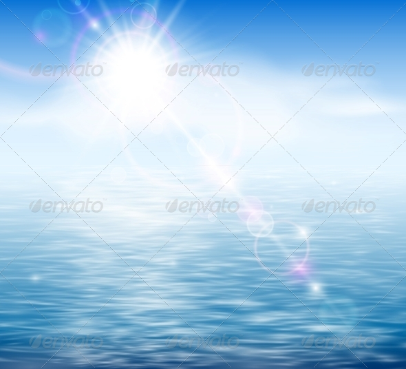 Sunshine by the Sea - Landscapes Nature