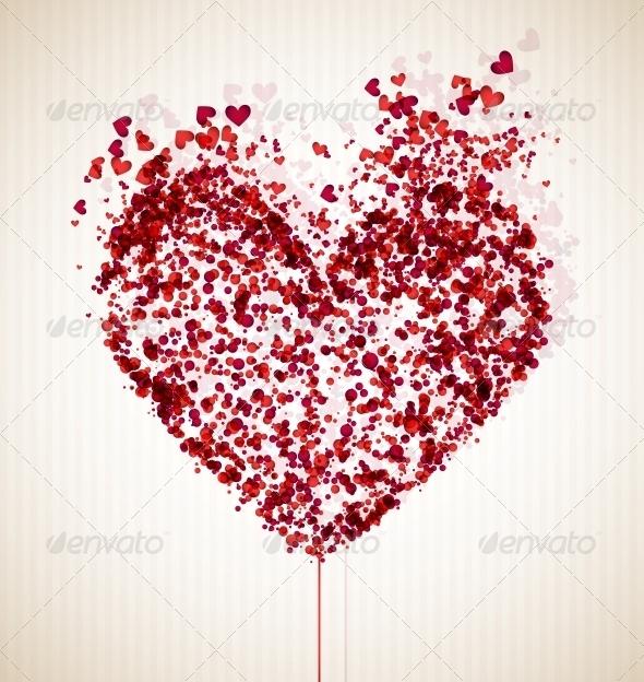 Vulnerable Heart - Decorative Symbols Decorative