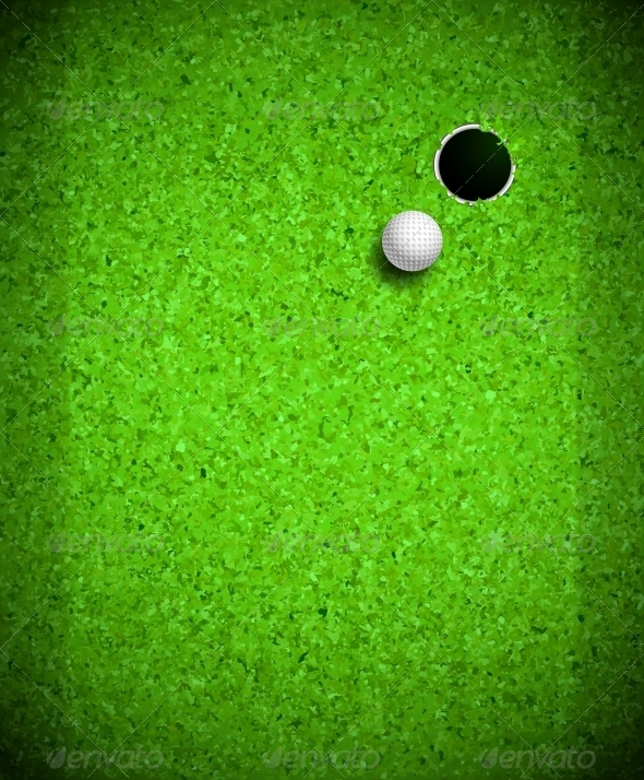 Playing Golf - Sports/Activity Conceptual