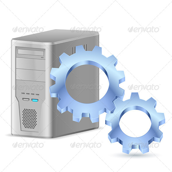 Gearwheel with Computer - Industries Business