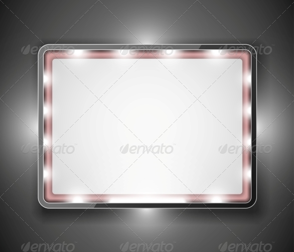 An Empty Frame for Text - Backgrounds Decorative