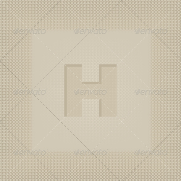 Letter H - Decorative Symbols Decorative