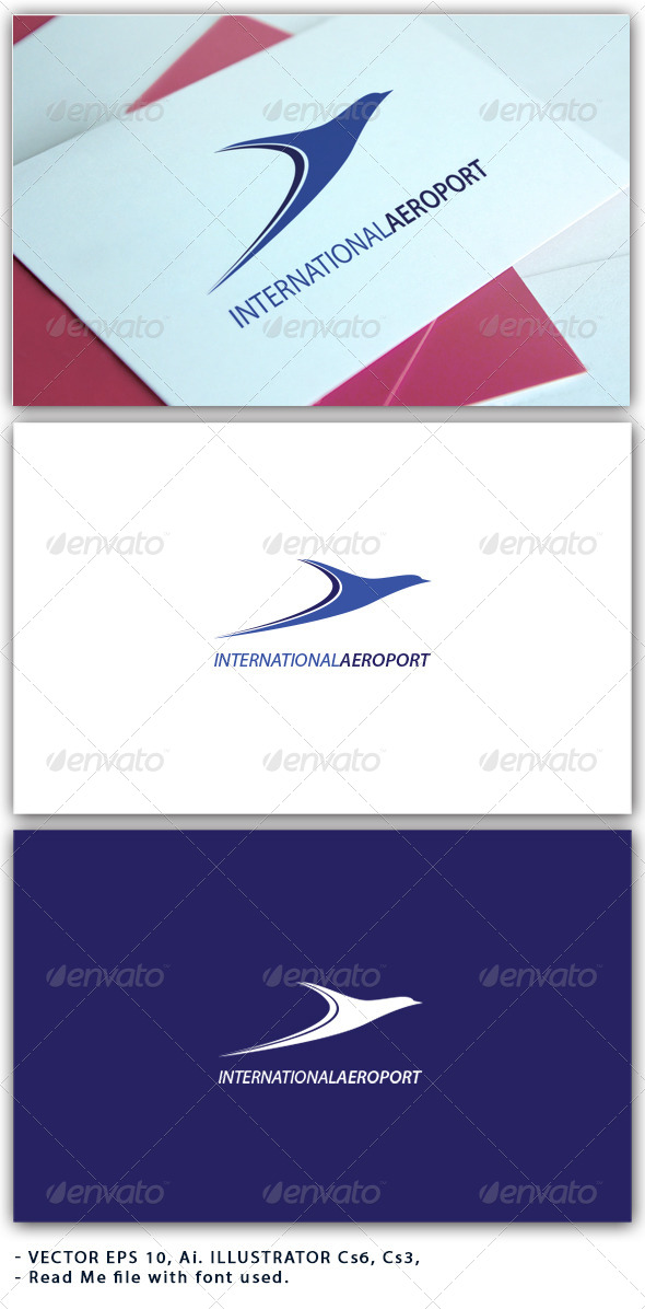 International Aeroport Logo - Logo Templates