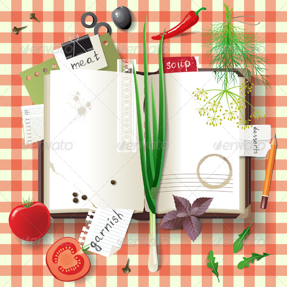 Cookbook - Food Objects