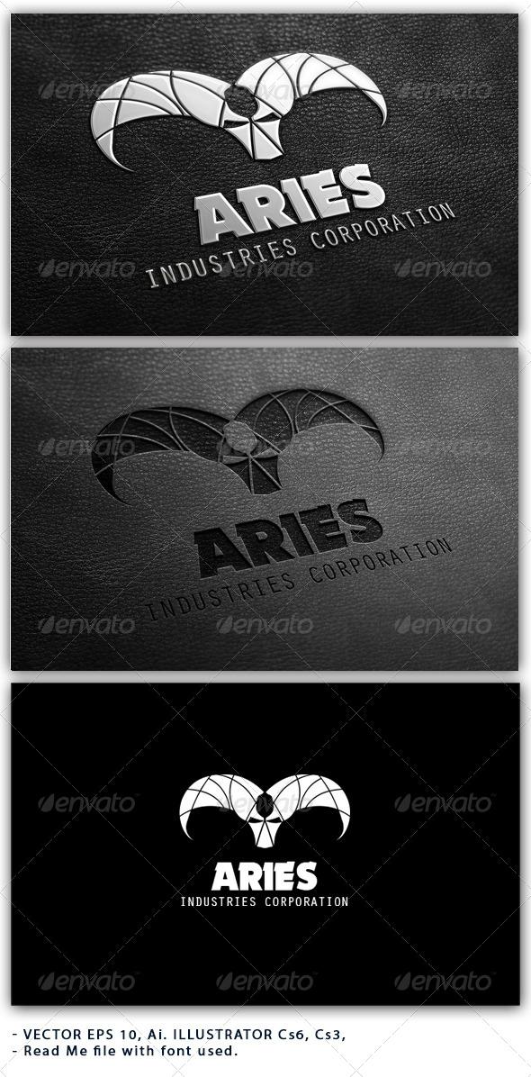 Aries Industries Corporation Logo - Animals Logo Templates