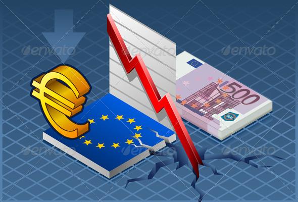 Isometric Europa Crisis - Conceptual Vectors