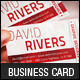Creative Waves Corporate Business Card - GraphicRiver Item for Sale