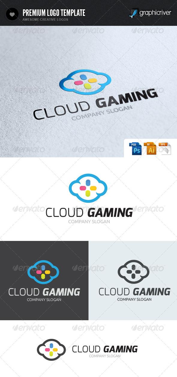 Cloud Gaming Logo - Nature Logo Templates