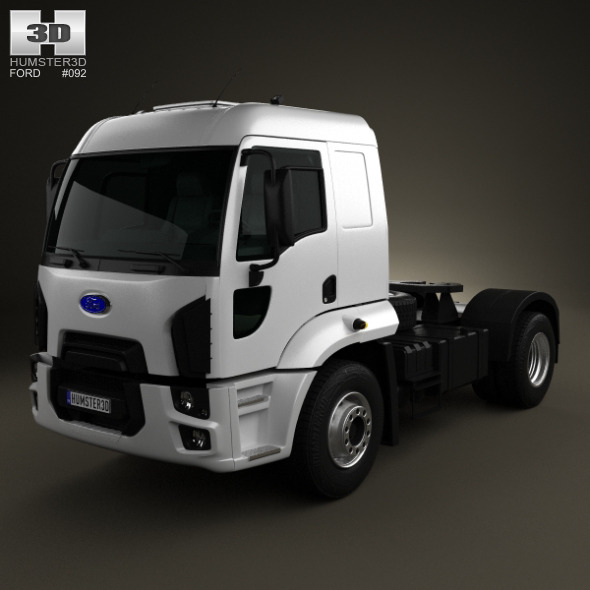 Ford Cargo Tractor Truck 2012 - 3DOcean Item for Sale