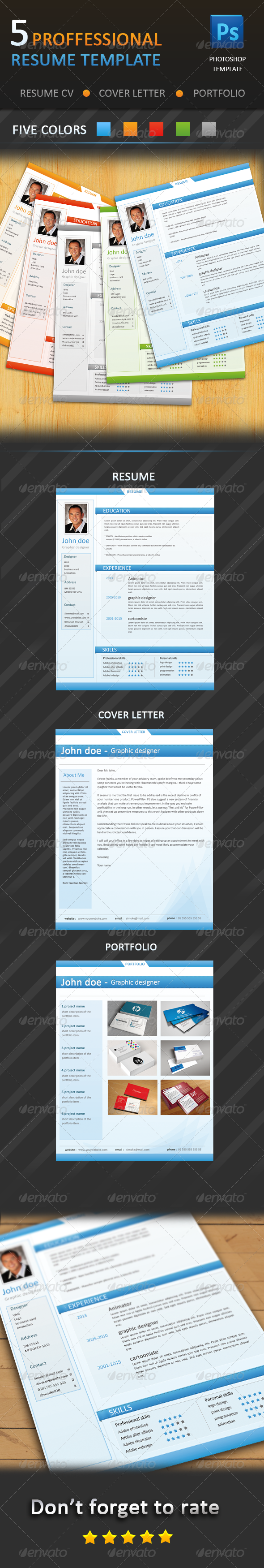 Professional Resume - CV - Resumes Stationery