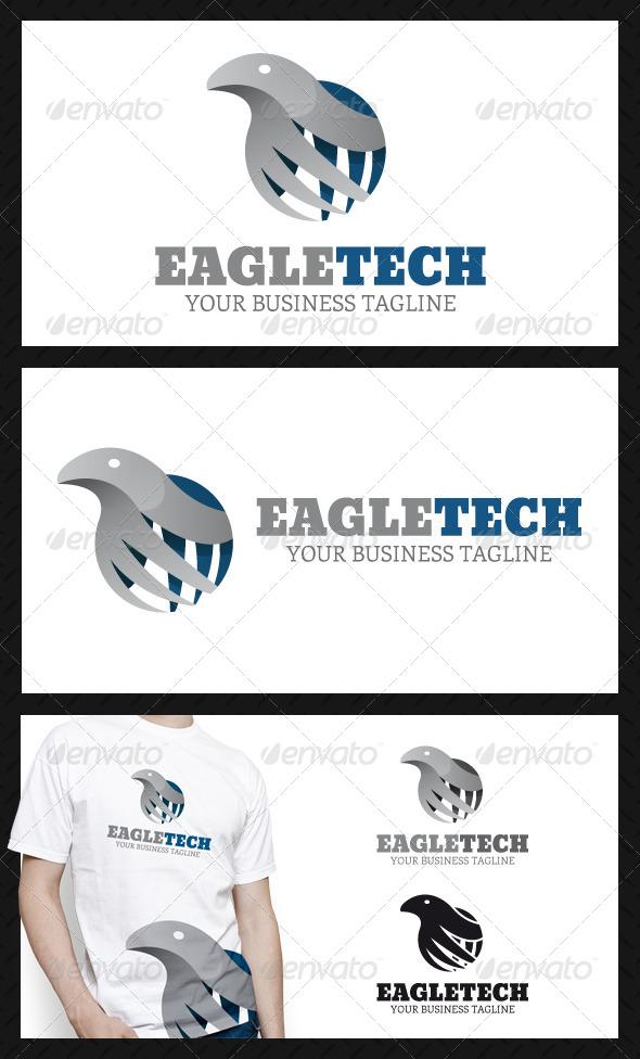 Eagle Tech Logo Template - Animals Logo Templates