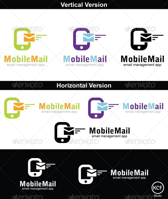 Mobile Mail Logo Design - Symbols Logo Templates