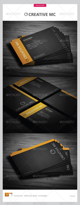 Corporate Business Cards 322 - Corporate Business Cards
