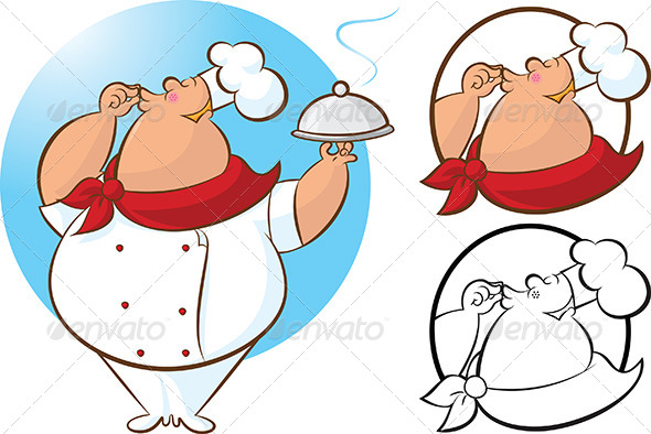 Chef Magnifico Mascot - People Characters